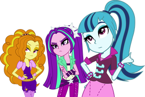 Dazzlings Vector (Without Necklaces) by Mirai-Digi