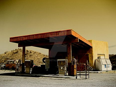 Last Stop for Gas 2 by wayworth