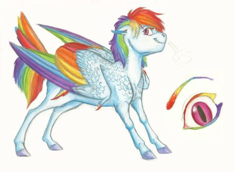 Headcanon: Rainbow Dash by Earthsong9405