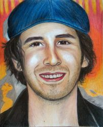 Josh's Sunny Smile coloured pencil by Schnellart