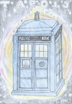 TARDIS - Doctor Who by CYoma