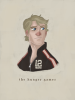 The Hunger Games: Peeta by AndyBennett