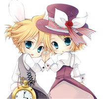 Rin y Len Png by iamglee