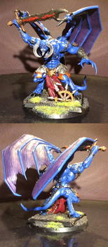 40k tzeentch Daemon Prince by Battleseal