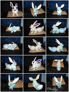 Foam Base Eevee (For Plush) Interior / Pattern by Eternalskyy