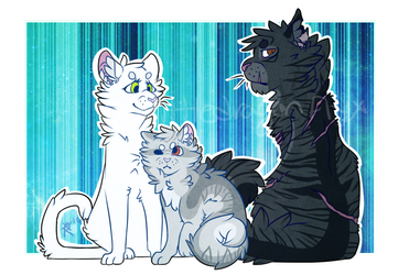 The Whole Family --- W.C. Drawing by xWolfexx