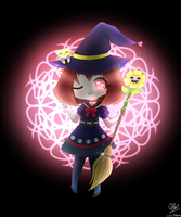 Chara the witch by MKirina