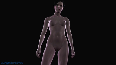 Syanna-lighting test by Crysis328