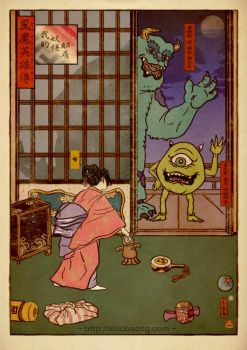 My Yokai Neighbour by xiaobaosg