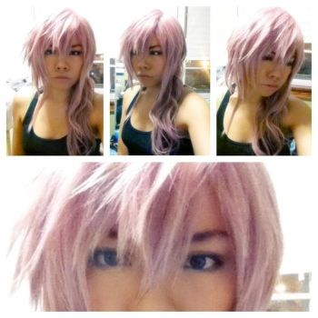 Lightning wig and makeup test by Pisaracosplay