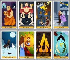 Game of Thrones Tarot - Part 3 by poly-m