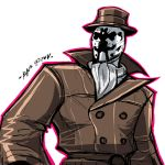 COMMISSION:RORSCHACH by Sabrerine911