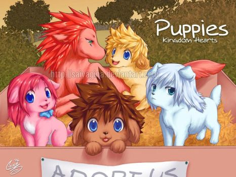 KH Puppies by SaiyaGina