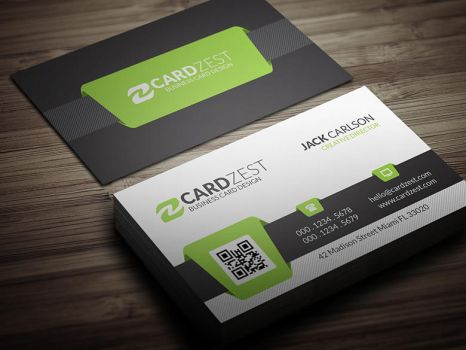 Businesscarddesign explore businesscarddesign on deviantart melquidez 0 0 free green qr code business card template by mengloong wajeb Images
