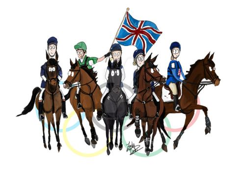 Good luck team GBR by The-strawberry-tree