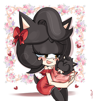 I am a happy mommy by chibiirose