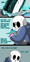 Sans's new pet (page 4) by joselyn565