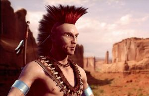 Iroquois indian by szarka4u