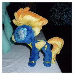 Pony Plush - 'Minibolt' Spitfire by RadiantGlyph