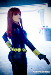 Marvel Black Widow by plu-moon