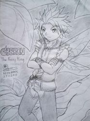 Oberon , the Fairy King by Raendric