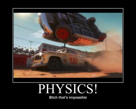 Cars Motivational- Doc Physics by Pixargirl