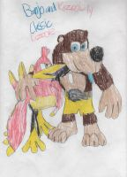 Banjo and Kazooie-Greatest Gaming duo by ClassicKazooie