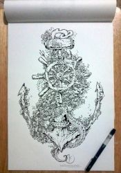 INTO THE DEEP by kerbyrosanes