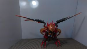 Tahu Combiner of Fire (Bird Mode) by sideshowOfMadness