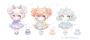 [CLOSED] Points/Paypal Owl Adopts Auction by ArtsyAica
