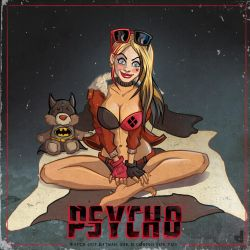 Harley Quinn- Psycho by Area-44