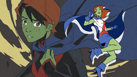 Miss Martian eyecatch by OlgaUlanova
