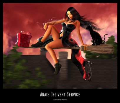Anais Delivery Service by Fredy3D