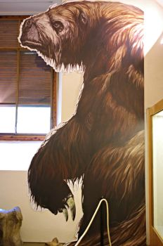 Silhouette of a Megatherium by Lynus-the-Porcupine
