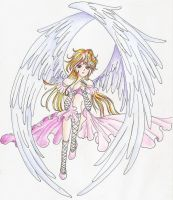 My angel2 by angelthetroublemaker