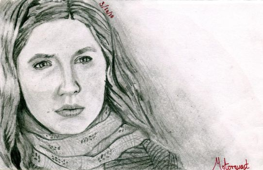 Amy Pond - Portrait by Motorquest