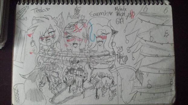 Christmas Naughty Victems Part 2 Midnite-Delight by That-Paranoid-Zombie