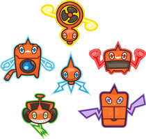 Rotom Motor Full Force