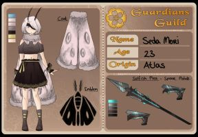 Seda Mori (Silky) - Guardians Guild Application by Roselysium