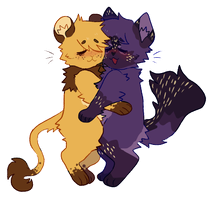 Cuddle Bugs by cryptidroad