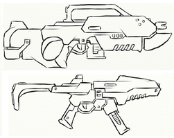 Gun Concepts II by JxAir