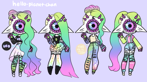 Outfit set - Ynova by hello-planet-chan