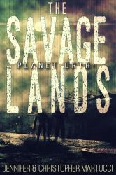 Dystopian Ebook Cover: The Savage Lands by Dafeenah
