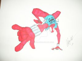 Scarlet Spider by chaz1179
