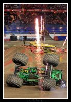 Monster Jam by sanchiesp