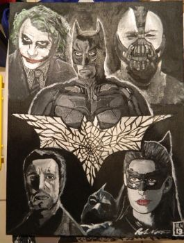 The dark knight trilogy shattered memmories by roydraven777