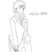 Yamamoto Lineart by Lolker-chan
