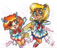 Sailor Coco and Charlie by Avril-TRON-LuKon