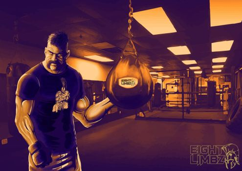 MMA Fighter by chakanforeverman
