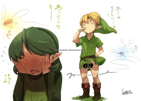 Link the WIND by faustsketcher
